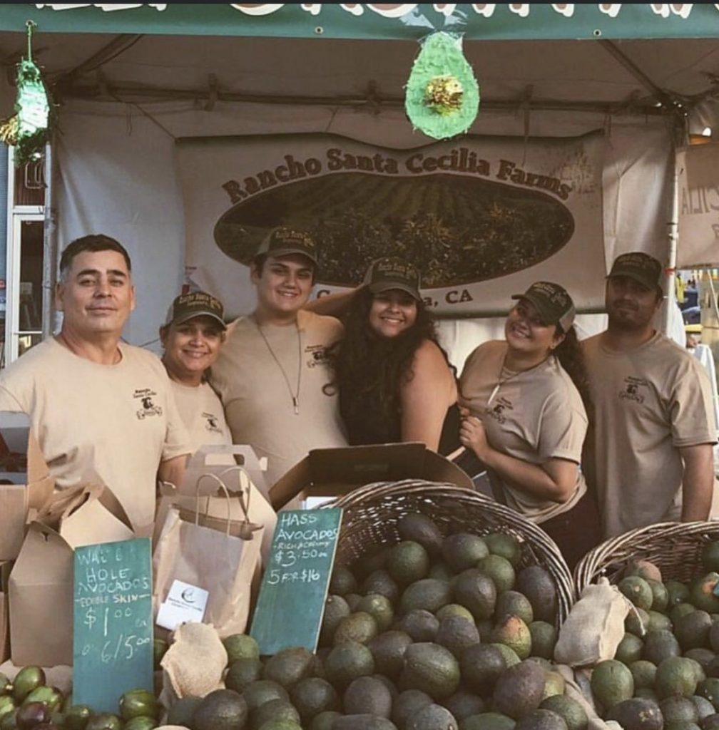photo of family from Rancho Santa Cecilia