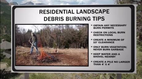 Landscape Debris Burning Safety