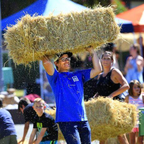Foodies connect with farmers at Petaluma's Farmer Olympics